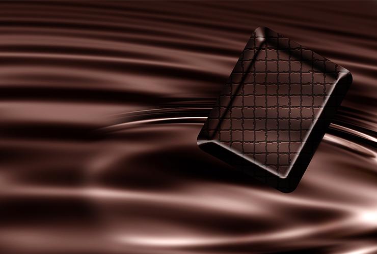 maska čokolada