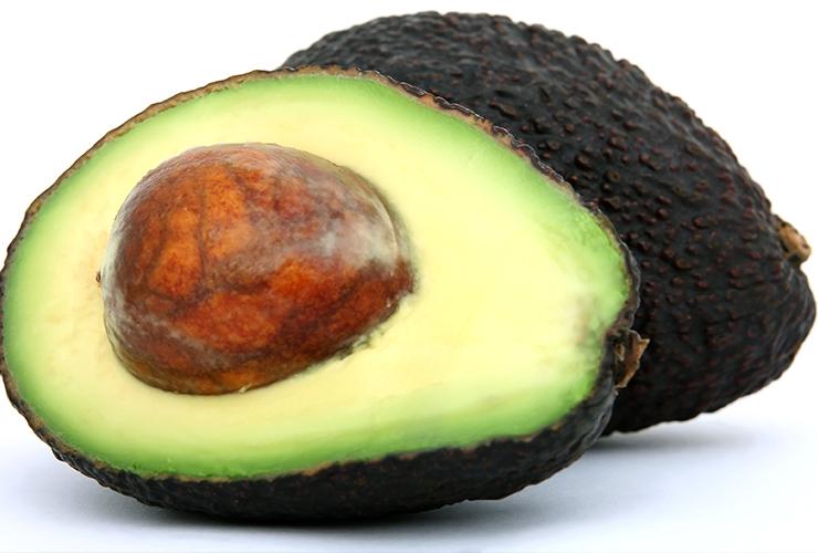 recept avokado