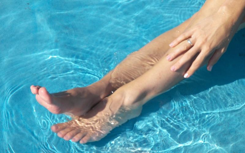 glatke noge