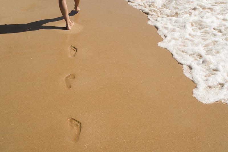 Prirodna njega suhih stopala